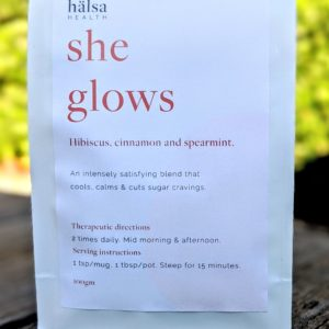 Halsa Health She Glows Herbal Tea